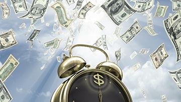 money-clock
